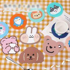 Dukson - Cartoon Print Silicone Coaster