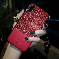 Queen's Secret - Glittering Phone Case - iPhone 6 / 6 plus / 6S / 6S plus / 7 / 7 plus / 8 / 8 plus / X