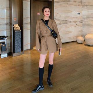 Jinyo - 纯色西装外套