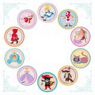 Embroidery Kingdom - Cartoon Embroidered Applique Patch