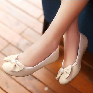 Freesia - Bow Accent Flats