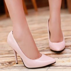 Megan - Pointy-Toe Stiletto Heel Pumps