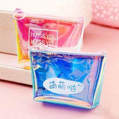Home Simply - 字母透明零钱包 / 配件小袋