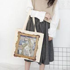 Yeyu Studio - Painting Print Canvas Tote Bag