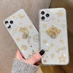 Chatarine - Star Printed Phone Case For iPhone 7 / 7 Plus / 8 / 8 Plus / X / XS / XR / XS Max / 11 / 11 Pro / 11 Pro Max