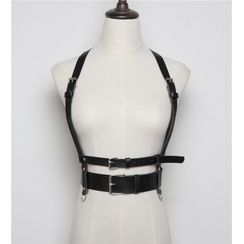 Beltalicious - Faux Leather Body Harness