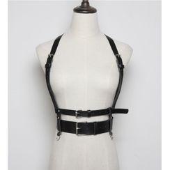 Beltalicious - 仿皮繫帶腰帶