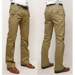 Sheck - Straight-Cut Pants
