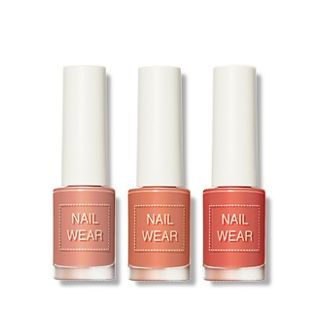 The Saem - Nail Wear Living Coral Collection - 5 Colors