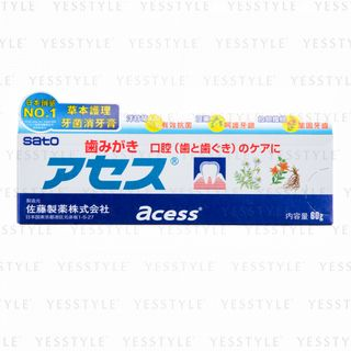 Sato - Acess Toothpaste For Oral Teeth & Gums Care