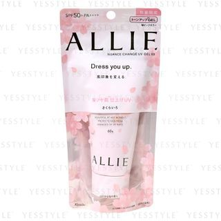 Kanebo - Allie Nuance Change UV Gel SPF 50+ PA++++ Cherry Blossoms Edition 60g