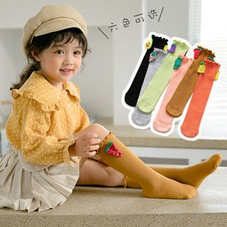 Cloud Femme - Kids Embellished Long Socks