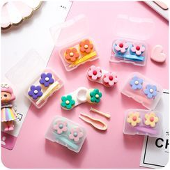 Chimi Chimi - Flower Contact Lens Case