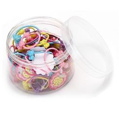 Livesmart - Set: Kids Hair Tie (assorted designs)