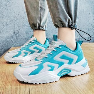 BELLOCK - Platform Lace Up Sneakers