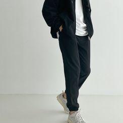 Seoul Homme - Drawstring-Waist Jogger Pants