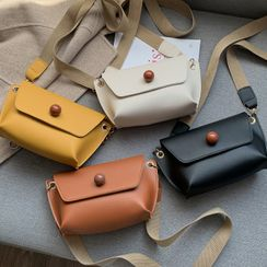 Road to Love - Faux Leather Crossbody Bag