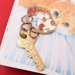 雲木良品 - 合金動物鑰匙扣