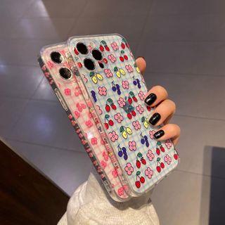 Huella - 超粉嫩手机壳For iPhone SE / 7 / 7 Plus / 8 / 8 Plus / X / XS / XR / XS Max / 11 / 11 Pro / 12 Mini / 12 / 12 Pro / 12 Pro Max