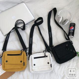Chestnut Party - Canvas Mini Shoulder Bag
