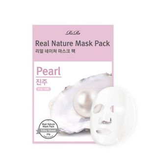 RiRe - Real Nature Mask Pack (Pearl)