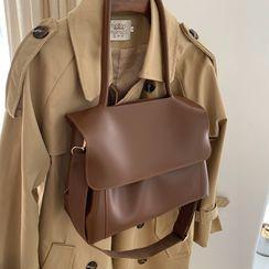 TZ(ティーゼット) - Faux Leather Shoulder Bag