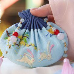 Embroidery Kingdom - Tassel Amulet DIY Embroidery Kit