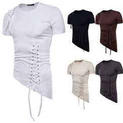 Aozora - 短袖系带上衣