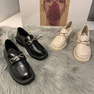 Laceuplux - 厚底乐福鞋