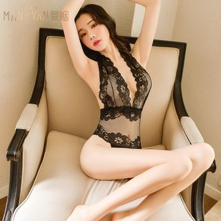 Colorful Days - See-Through Lace Teddy