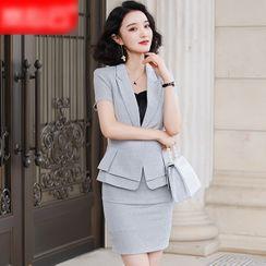 Skyheart - 短袖西装外套 / 西裤 / 铅笔裙 / 吊带背心 / 套装