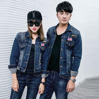 Denimot - Couple Matching Denim Jacket