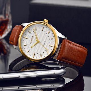 MODIYA - 仿珍珠带式手表