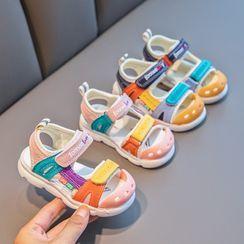 Doradas - 小童插色魔术贴凉鞋