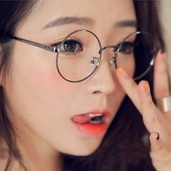 MOL Girl - 男女款圆形金属镜架