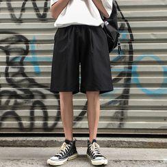 YERGO - 纯色短裤