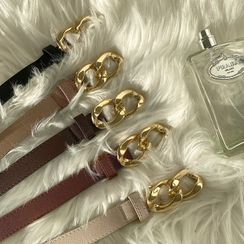 DABAGIRL - Chain-Buckle Belt