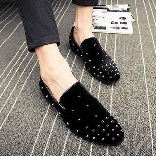 WeWolf - 仿皮铆钉乐福鞋