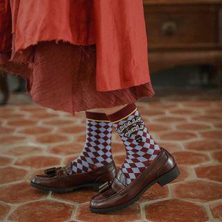Saysmith - 卡通印花襪子