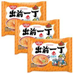 Nissin - Demae Iccho Spicy Series Spicy Seafood Flavour (3 packs)