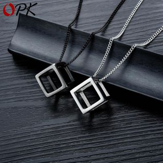 Tenri - Cube Pendant / Necklace / Set