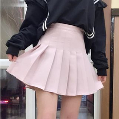 Whoosh - 打褶裥A字裙