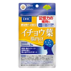 DHC Health & Supplement - Ginkgo Biloba Alpha