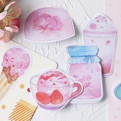 Homey House - Dessert Print Sticky Note