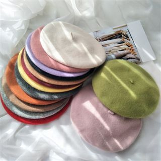 FROME - 純色貝雷帽