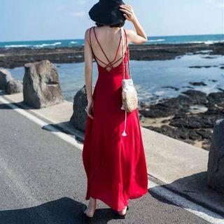 Glaypio - Strappy Maxi Sun Dress