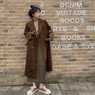 Karnel - Corduroy Blazer Coat