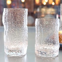 Cuplet - Irregular Textured Glass Drinking Cup