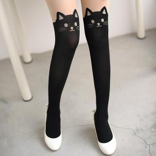 59 Seconds - 猫印花贴身裤