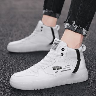 Signore - Lettering High Top Sneakers
